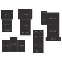 pocket and flipfold inserts c black