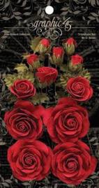 bloemen rood