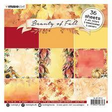 """beauty of fall 15 x 15 cm. block (6""""x6"""")"""