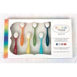 blender brushes set van 10 stuks
