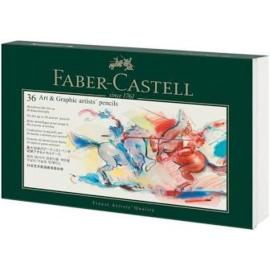 faber castell opbergdoos voor 36 kleurpotloden