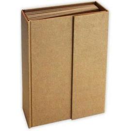 cardboard album 21,5 x 15,5 x 6 cm. 7 pagina's