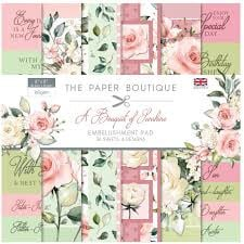 paper pack embellishments pad