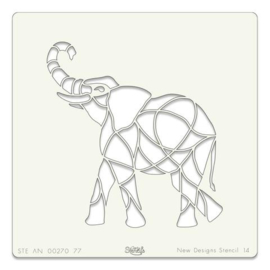 """elephant  95   7""""x7"""""""