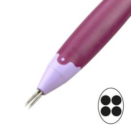 4 needle bold perforating