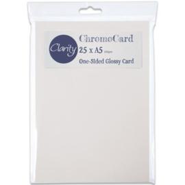 chromo card A5 50 stuks