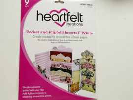 pocket and flipfold inserts F-white