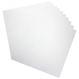 """white cardstock 12""""x12"""" HCPP3-452 25 vel"""