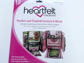 pocket and flipfold inserts E-Black