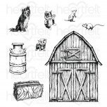 home of the farm cling stamp set