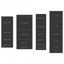 pocket and flipfold inserts B-Black