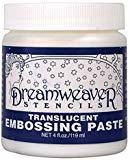 dreamweaver crackle embossing paste