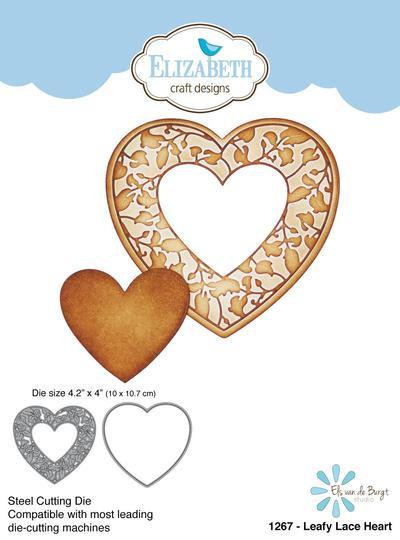 leafy lace heart