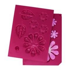 3D shaping mold large zinnia
