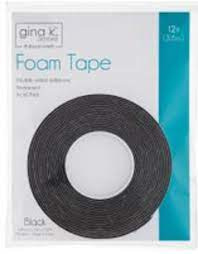 foame tape zwart van Gina K