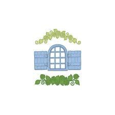 cottage window&hydrangea
