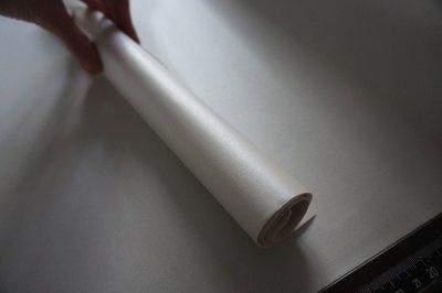metallic wit. Bookbindersleer
