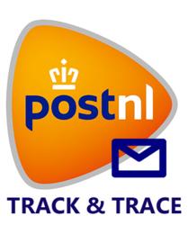 Verzendoptie track & trace Nederland