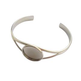 Armband voor 20mm cabochon antiek-zilver