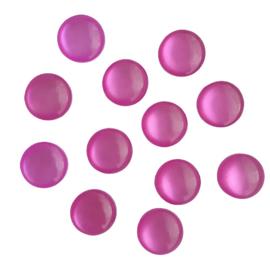 Resin cabochon cateye violetroze