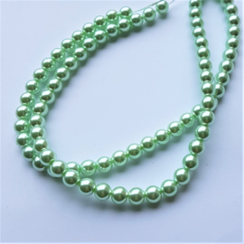 Glasparel pastel green - 6mm