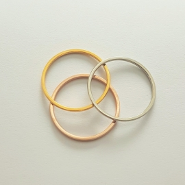Ringenset - ringmaat 17mm