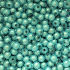 Miracle bead aquablauw - 6mm