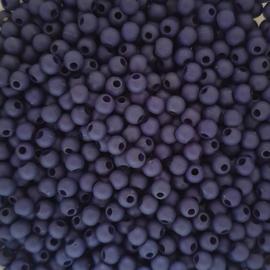 Acryl kraaltje mat nachtblauw - ca. 4mm