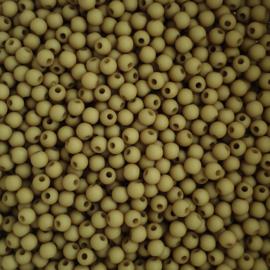 Acryl kraaltje mat olijfgroen - ca. 4mm