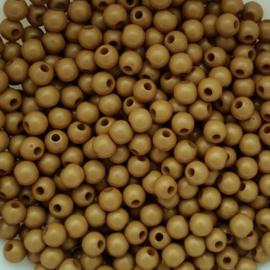 Acryl kraal olijfgroen - ca. 6mm