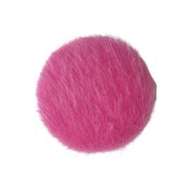 Cabochon bont roze XL - 35mm