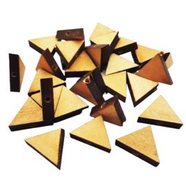 Houten kraal driehoek