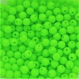 Acryl kraal neon groen