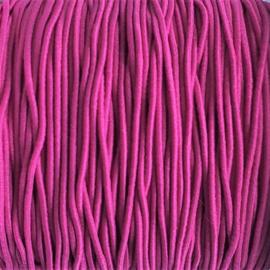 Elastiek  cherry pink