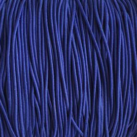 Elastiek  koningsblauw