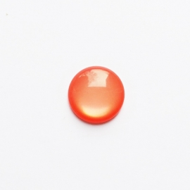 Polaris cabochon paparacha roze -20mm