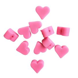 Siliconen hartje roze