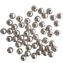 Metalen kraal -  ca. 8mm
