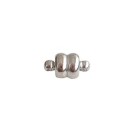 Magneetslotje antiek-zilver