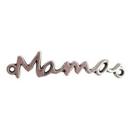 Tussenstuk Mama antiek-zilver
