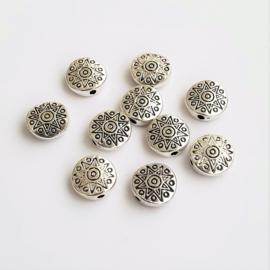Metalen kraal mandala