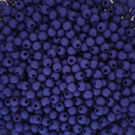 Acryl kraaltje mat delftsblauw - ca. 4mm