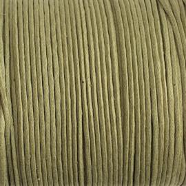Waxdraad rietgroen - 1mm