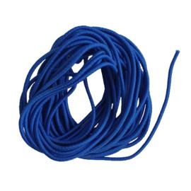 Elastiek koningsblauw - 2mm