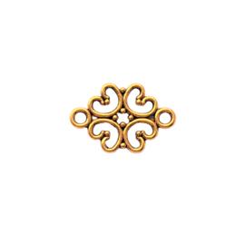 Tussenstuk bohemian flower goud