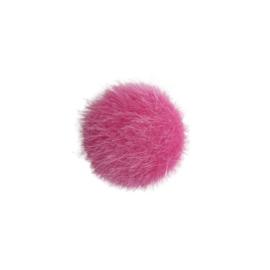 Cabochon bont roze - 20mm
