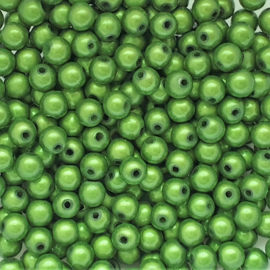 Miracle bead groen - 6mm