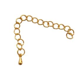 Verlengketting goud - ca. 7cm