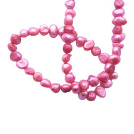 Zoetwaterparel roze