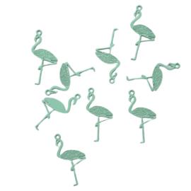 Hangertje flamingo pepermunt